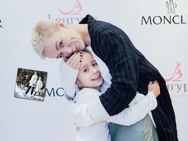 Зимний family look: Дарья Мороз с дочкой стали Снегурочками