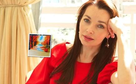 Сын Наталии Антоновой нарисовал маме подарок