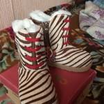 Зимняя обувь и гаша киса)