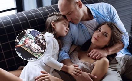 Константин Соловьев впервые показал младшую дочку