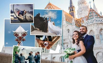 Автор, ты гений: 35 креативных свадебных фотографий