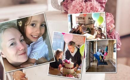 Весело и по-домашнему: дочь Дарьи Мороз отпраздновала день рождения с папой