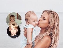 Рита Дакота считает, что ее дочь похожа на Маколея Калкина в детстве