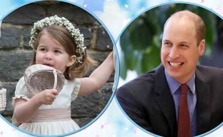 Один в один: принцесса Шарлотта похожа на папу в детстве