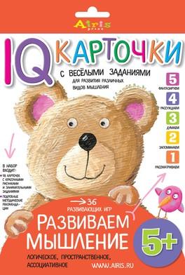 IQ-карточки. Развиваем детей.