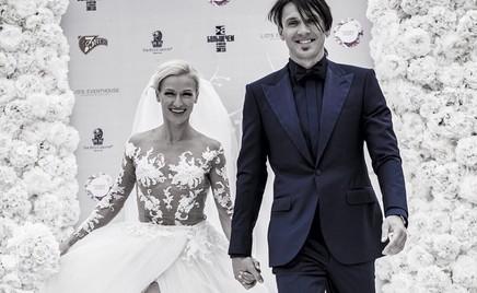 Как по маслу: Татьяна Волосожар и Максим Траньков отметили 3-ю годовщину свадьбы