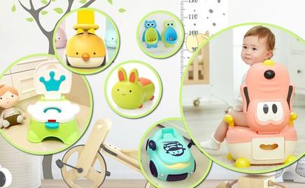 Милые, удобные и функциональные: 30 моделей детских горшков