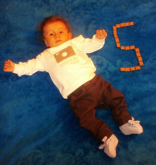 Сыну 5 месяцев!😘