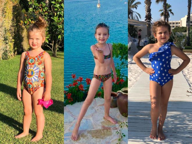 Королевы пляжа: дети знаменитостей на отдыхе