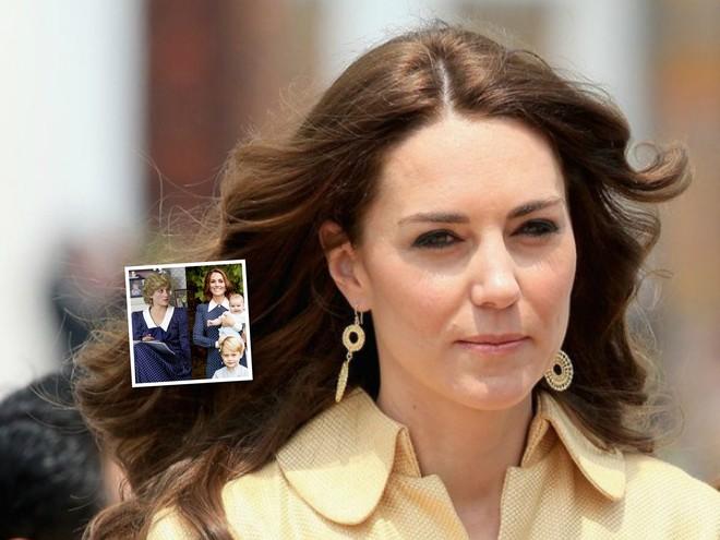 Кейт Миддлтон повторила модный образ принцессы Дианы