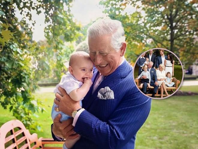 Любимый дедушка: новые портреты с принцем Луи к юбилею принца Чарльза