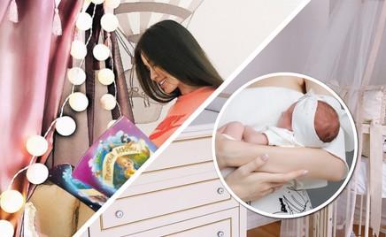 Анастасия Костенко показала комнату своей маленькой дочки