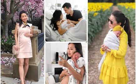 Честно: мама-блогер не скрывает, как на самом деле выглядит живот в первые дни после родов