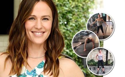 Как худеют актрисы: Дженнифер Гарнер показывает любимые упражнения