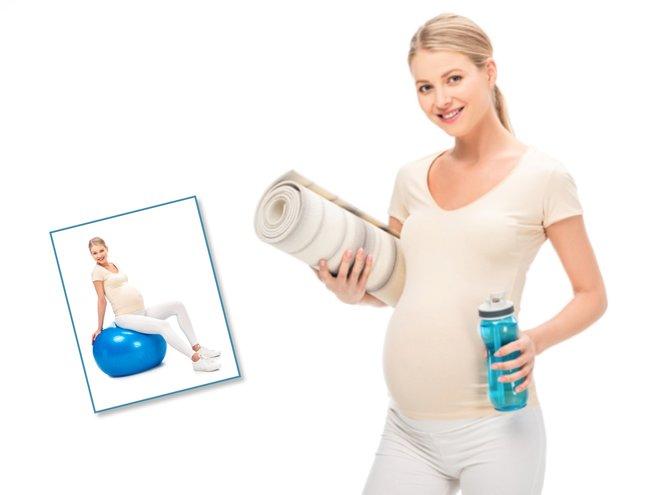 Фитнес на 22 неделе беременности