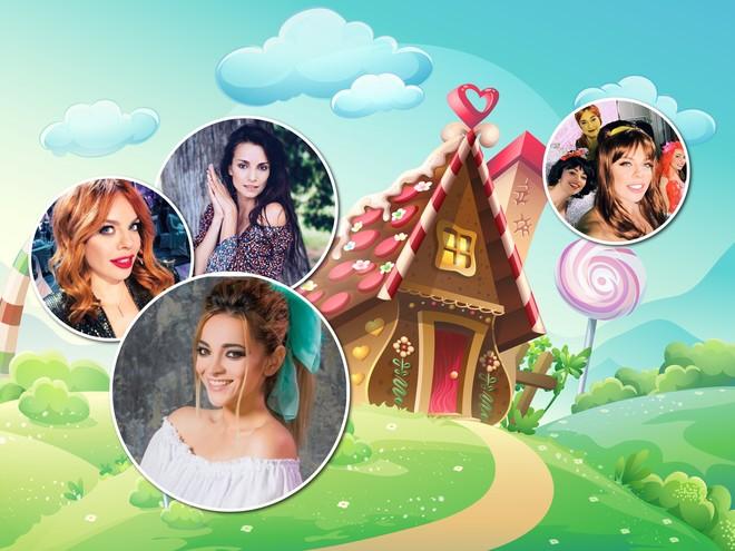 Стоцкая, Дольникова и Ланская перевоплотились в принцесс из любимых мультфильмов
