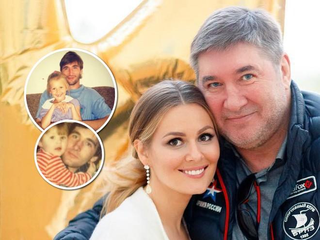 Семейный архив: Мария Кожевникова показала детские фото с папой