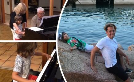 Повезло: Гарри Галкин сыграл на рояле Раймонда Паулса