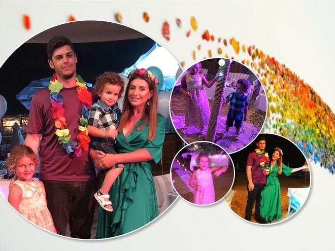 Семейный праздник: Жасмин с детьми отметила день рождения старшего сына
