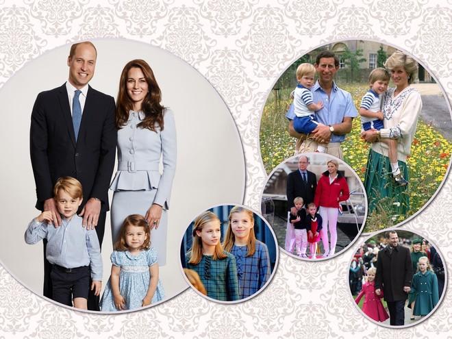 Королевский family look: сквозь поколения и династии