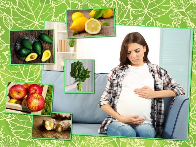 Никаких таблеток: продукты, которые помогут справиться с недомоганием во время беременности