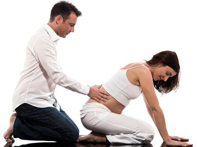 Как сделать массаж жене во время беременности