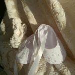 Туфельки-пинетки для Таинства Крещения