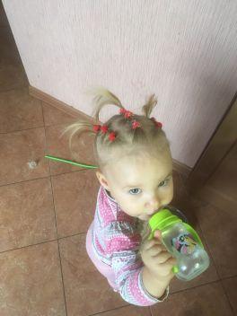 Моя маленькая модница!