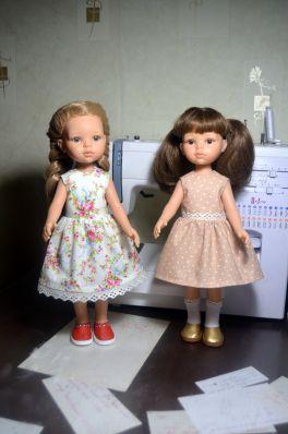 Ещё немного моих работ для кукол Paola Reina (много фото)