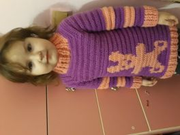 Колючий свитер