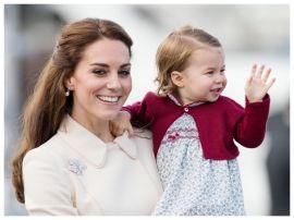 Кейт Миддлтон поблагодарила поклонников принцессы Шарлотты