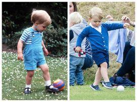 Принца Уильяма огорчает, что сын не любит футбол