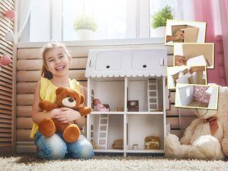 Мастер-класс: делаем кукольный домик своими руками
